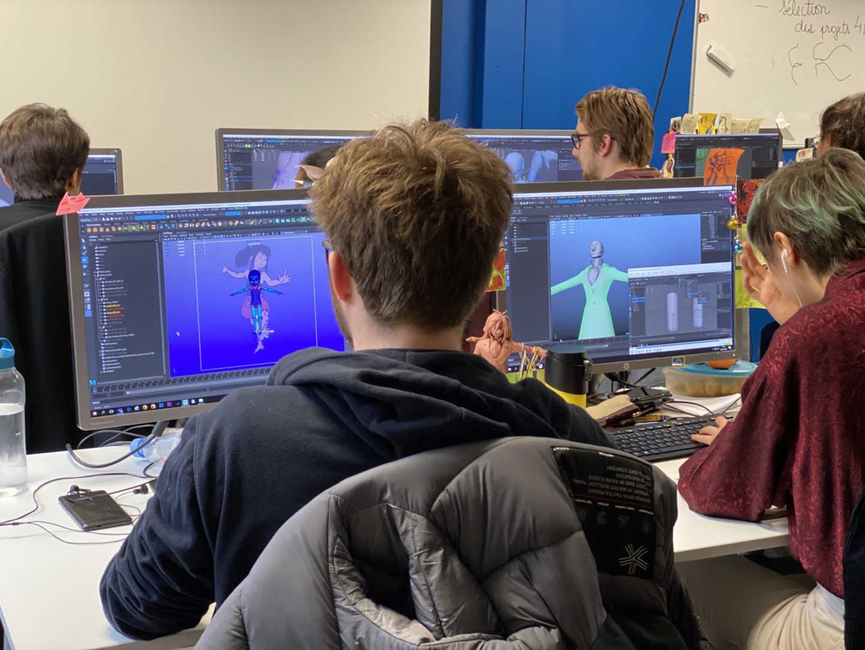 Animation 3D - 3ème année - Artisan du Jeu Vidéo