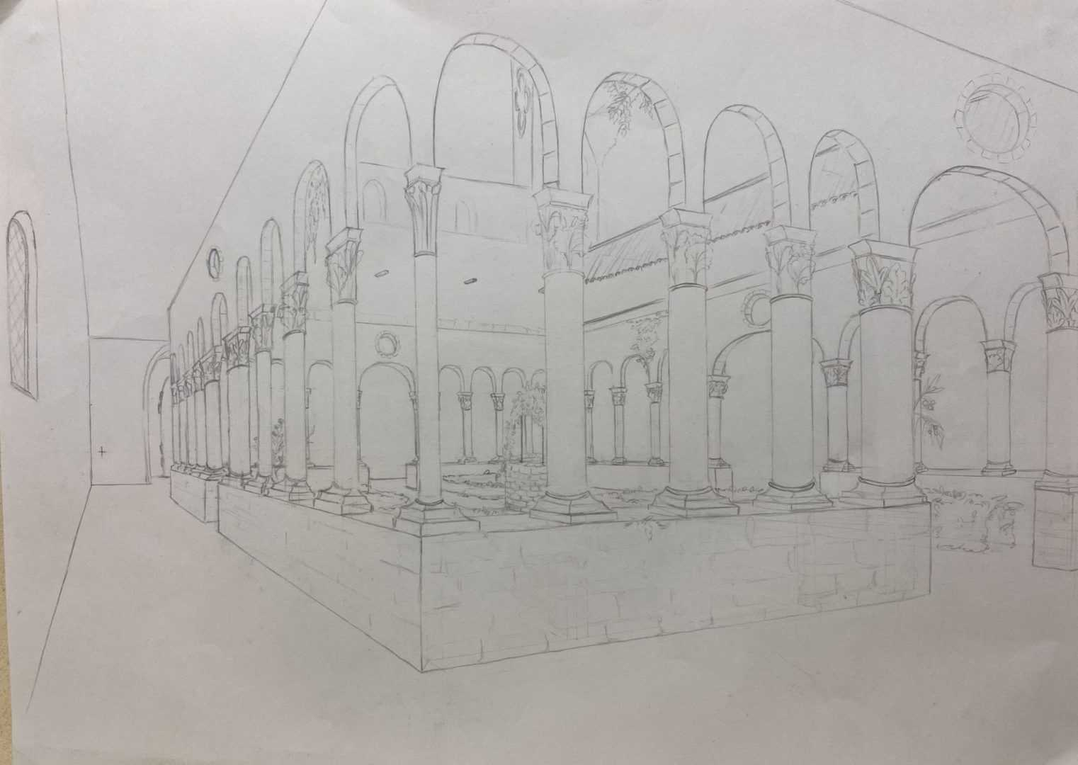 Dessin Perspective Atelier 5