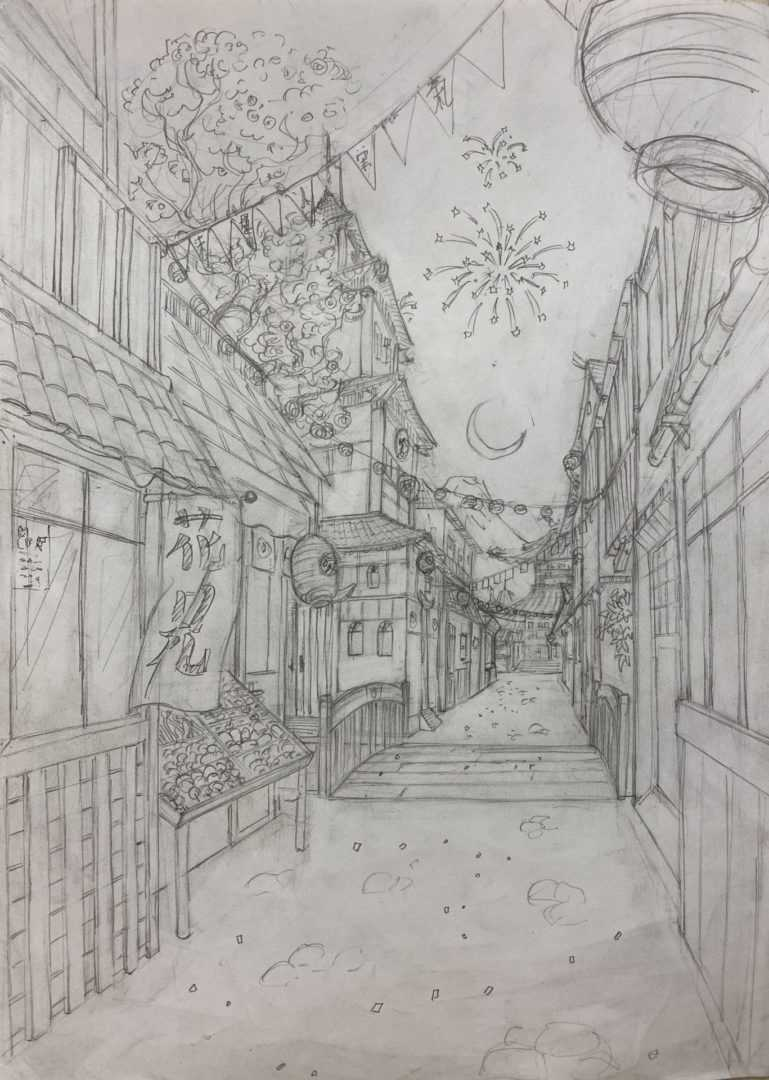 Dessin Perspective Atelier 4