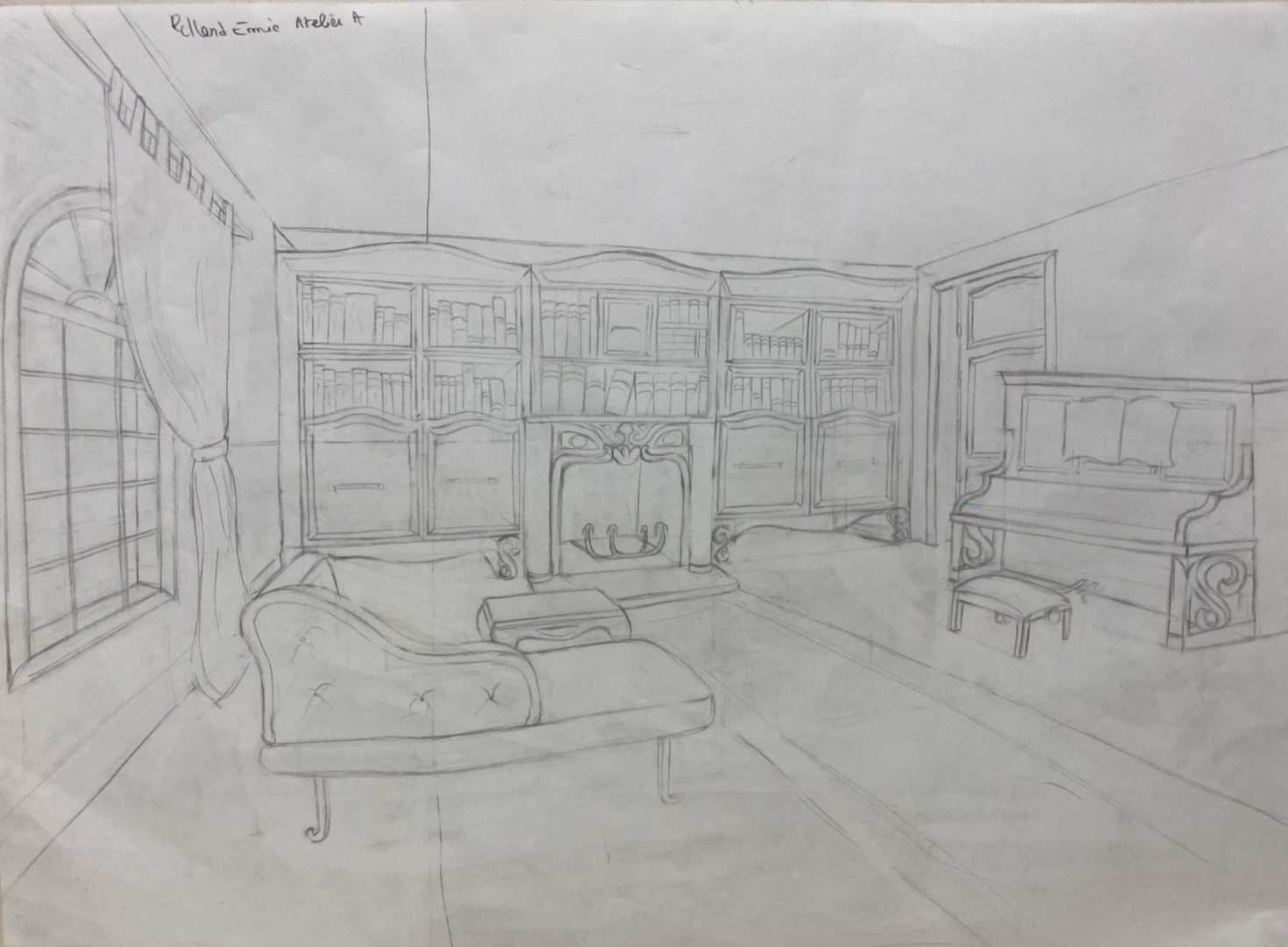 Dessin Perspective Atelier 2