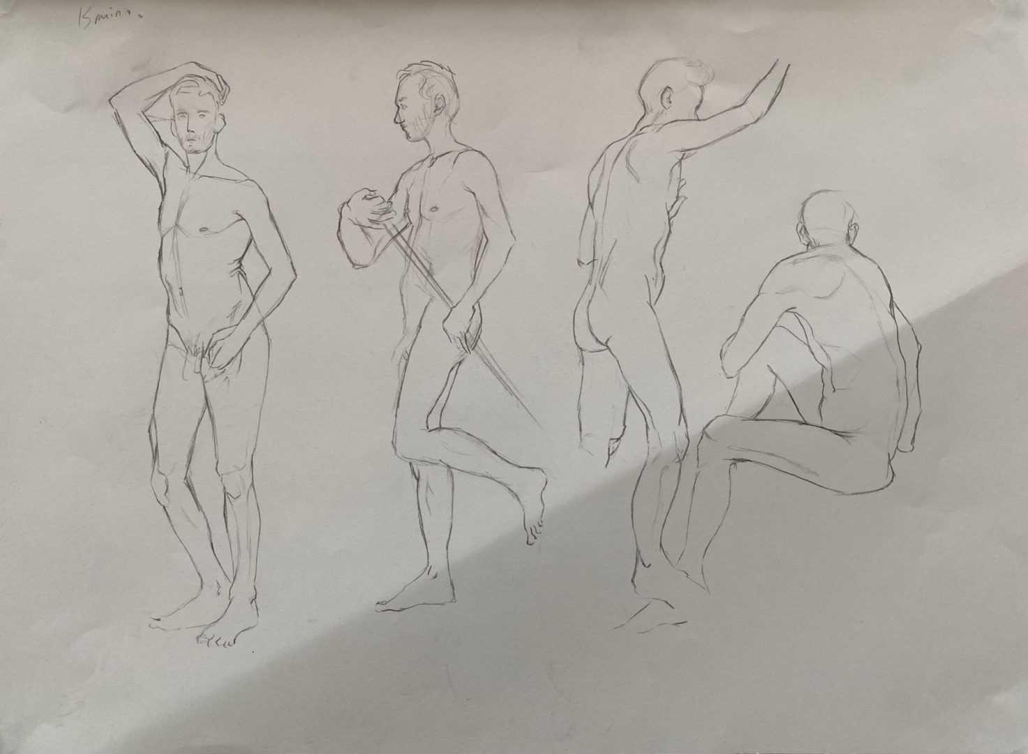 Prépa Atelier des Beaux Arts - Dessiner le vivant - École Georges Méliès