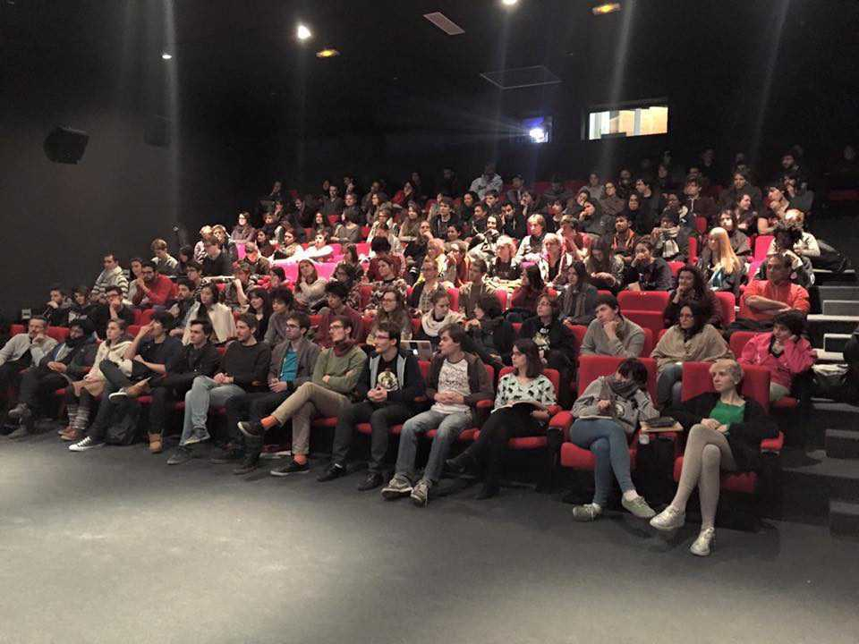 Conférence - Salle de cinéma - École Georges Méliès