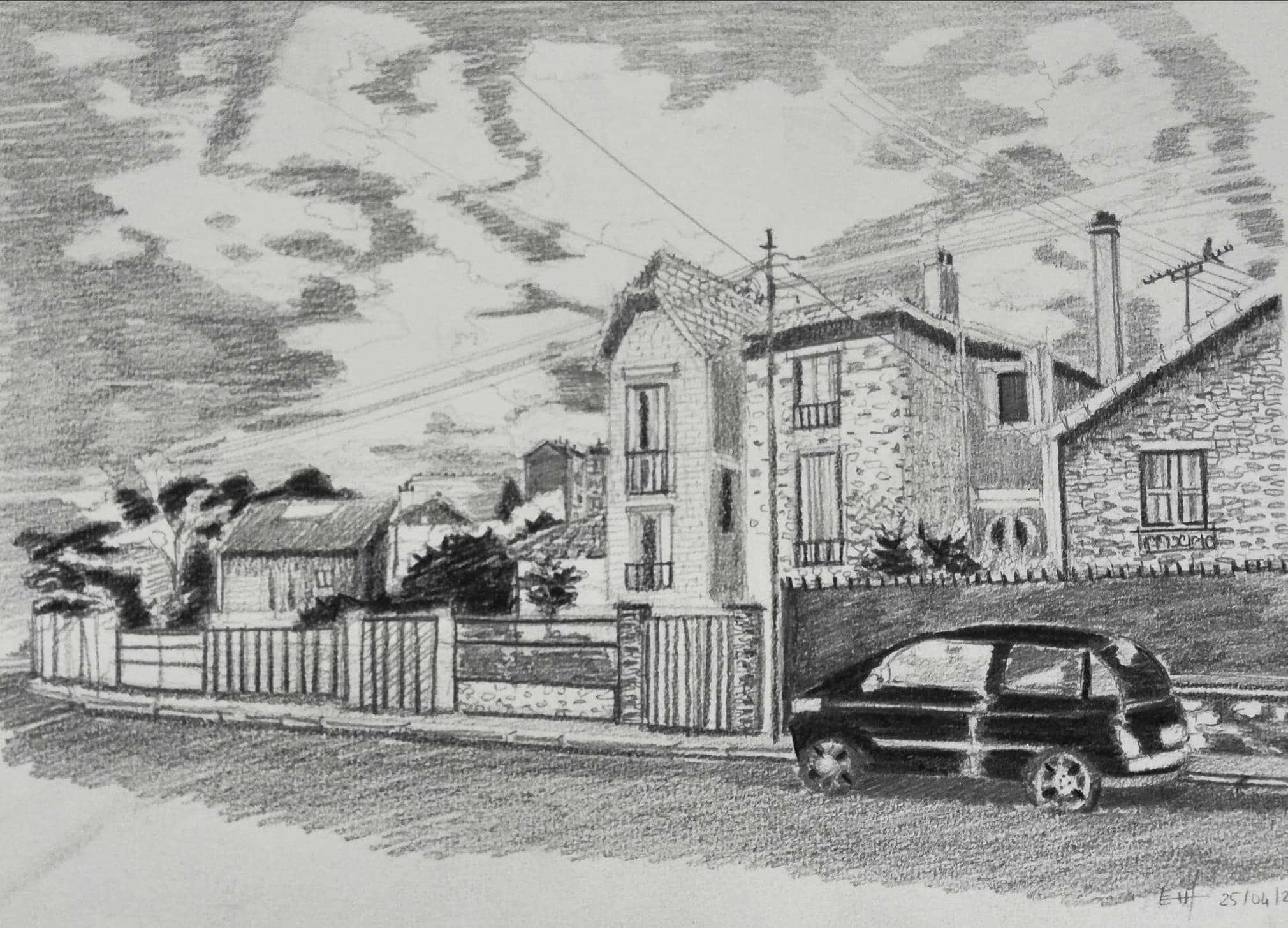 Prépa Atelier des Beaux Arts - Perspective - École Georges Méliès