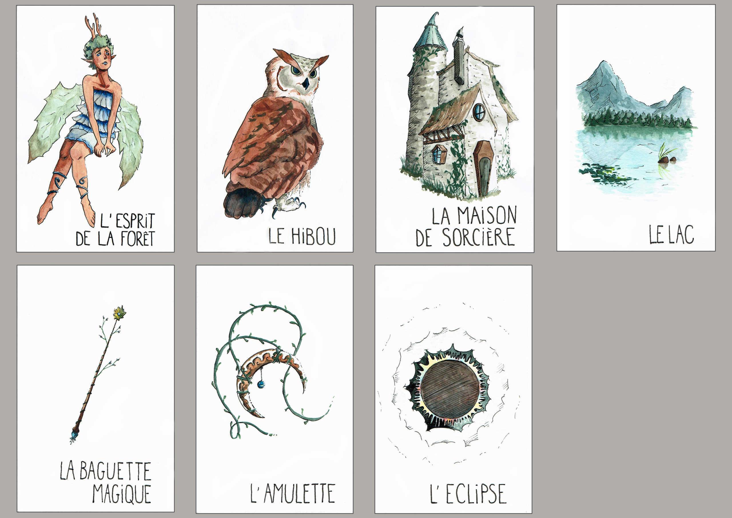 Illustration - 1ère année Artisan de l'Image Animée